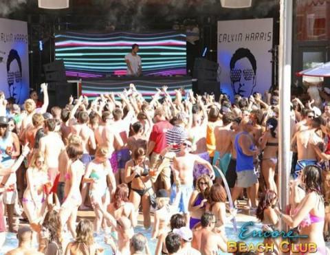 Encore Beach Club Pool - Calvin Harris