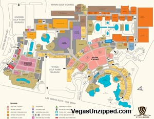 Las Vegas Hotel And Casino Property Maps List - Las vegas map of hotels