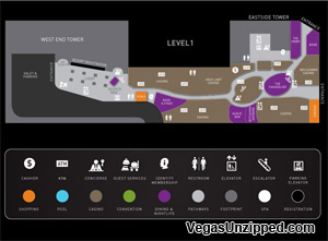las vegas hotel and property maps list