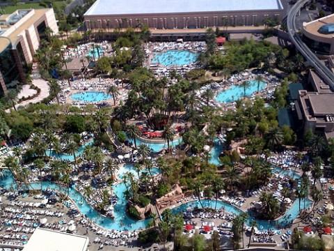 Best pools in las vegas top pools for Pool show vegas