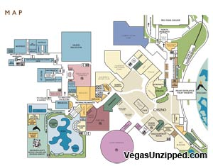 Map Of Planet Hollywood Hotel In Vegas Bellissimonyc Com
