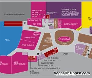Las Vegas Hotel And Casino Property Maps List