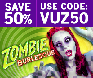 Zombie Burlesque 50% off