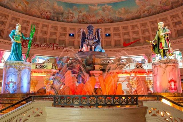 Fall of Atlantis at the Forum Shops at Caesars Palace