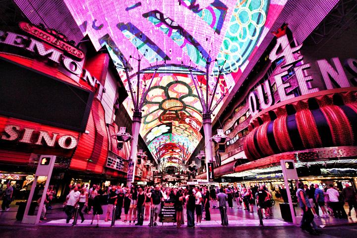 Downtown Vegas via vegasexperience.com