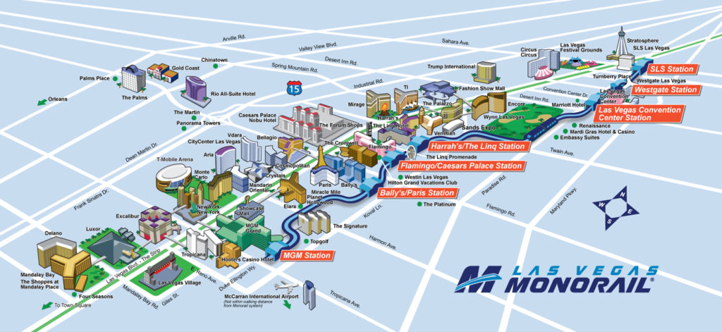 80 Easy Ways To Save Money In Las Vegas 2017 Budget Saving Tips: Map Of The Las Vegas Strip Hotels 2017 At Infoasik.co