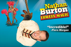 Nathan Burton Comedy Magic – 50% OFF Special Offer