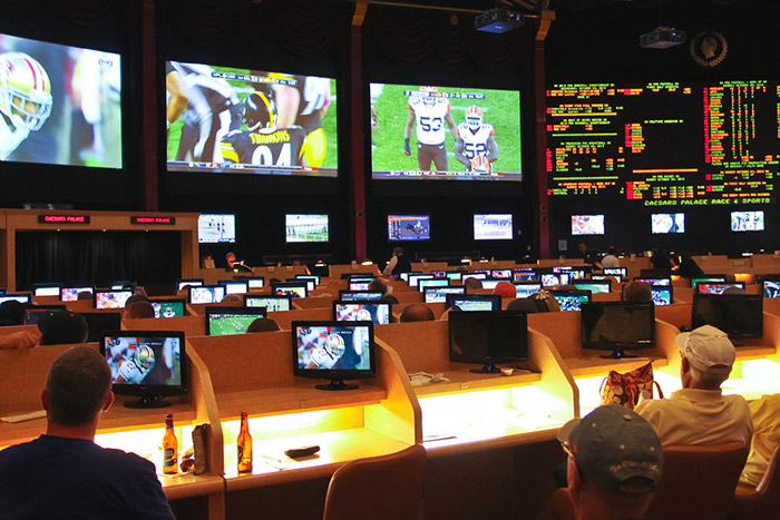watch Super Bowl in Las Vegas