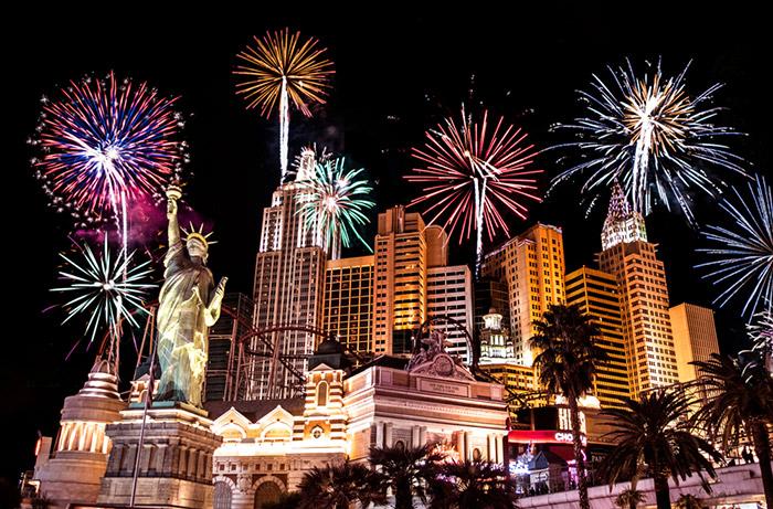 New years eve in Las Vegas