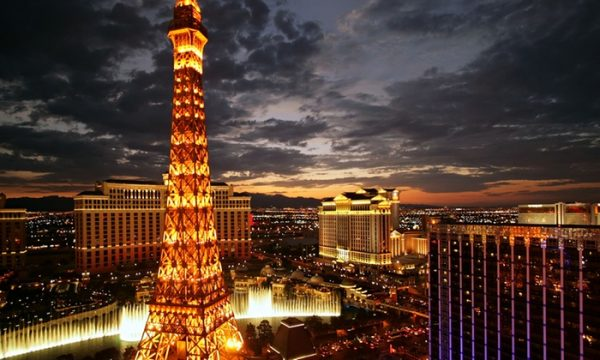 Day or Night Eiffel Tower Experience for Two at Paris Las Vegas (Up to 38% Off)