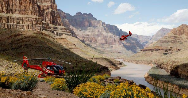 Grand Canyon to Las Vegas Helicopter Tours