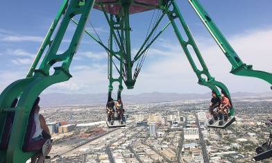 Up to 44% Off Stratosphere Thrill Rides