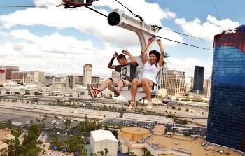 55% off Rio Zipline Ride Package
