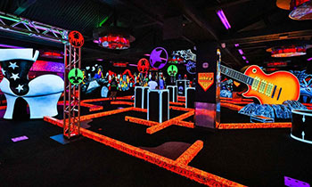 Up to 50% Off KISS by Monster Mini Golf