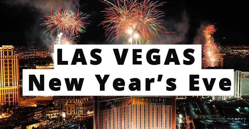 vegas new year's eve parties 2018 2019