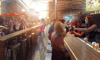 $26 for $40 Worth of Beer, Drinks, and Pub Food at Beer Park