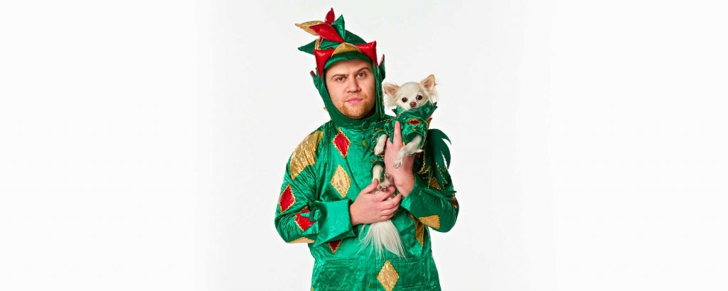 Piff the Magic Dragon is the and his sidekick Chihuahua.