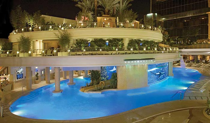 Gold Nugget Vegas Pool