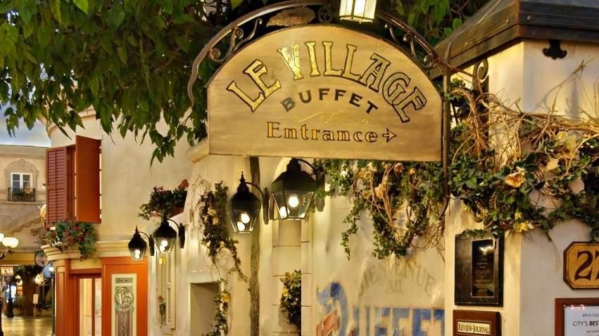 Le Village Buffet.