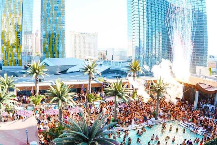 Marquee Las Vegas dayclub Pool