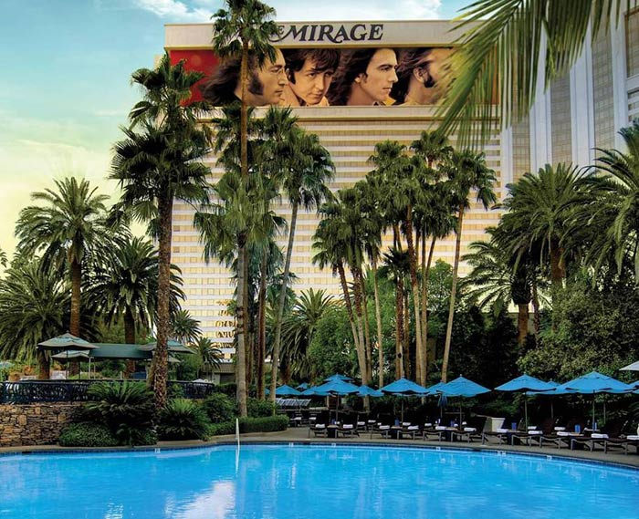 Mirage Pool Las Vegas