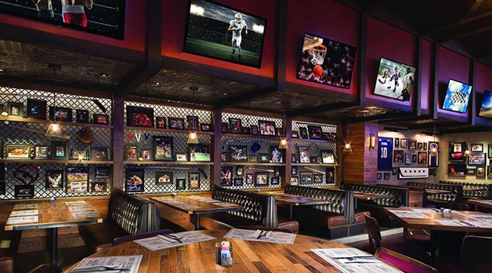 Taps Sports bar las vegas