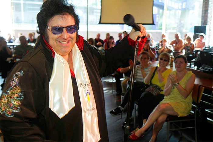 Big Elvis, starring Pete Vallee at Harrah's Casino.