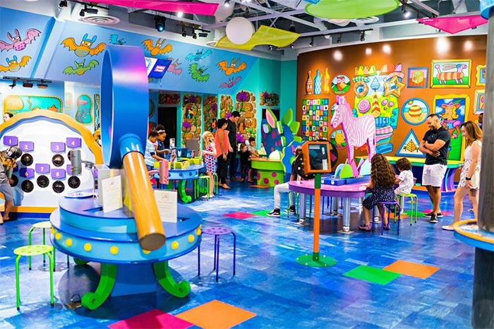 Discovery Children's Museum in Las Vegas.