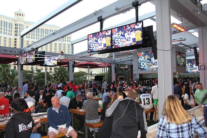 Beer Park Vegas viewing parties during march madness