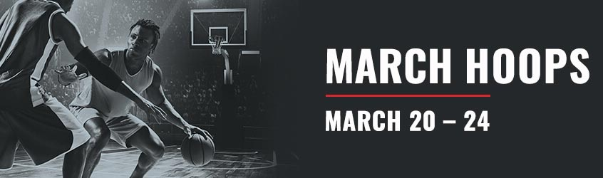 March Hoops viewing parties at The D in Downtown Vegas.
