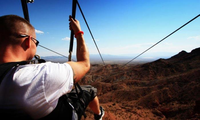 Flightlinez Bootleg Canyon Ziplining