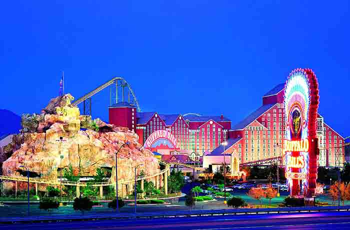 Adventure Canyon, located in Primm, Nevada.