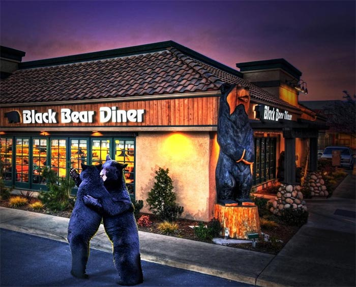 The Black Bear Diner.