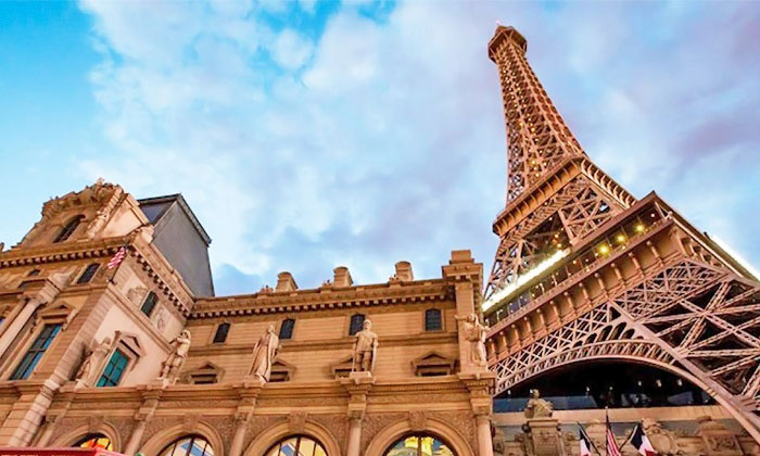 Eiffel Tower at Paris Las Vegas.