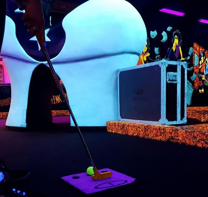 KISS themed mini golf at Rio All-Suite Hotel and Casino