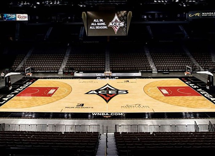 Las Vegas ACES arena.