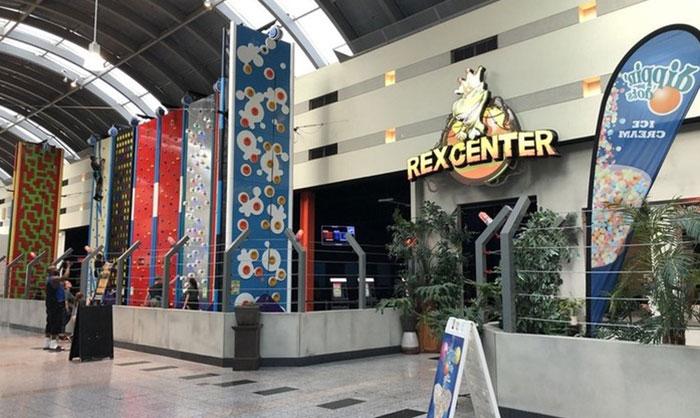 Las Vegas Amusement Center Rex Center.