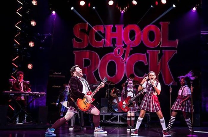 The Smith Center performs School of Rock.