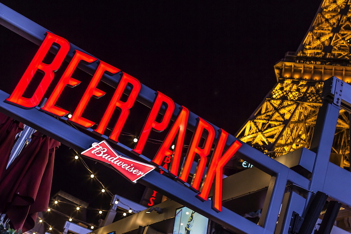 Beer Park, sponsored by Budweiser.