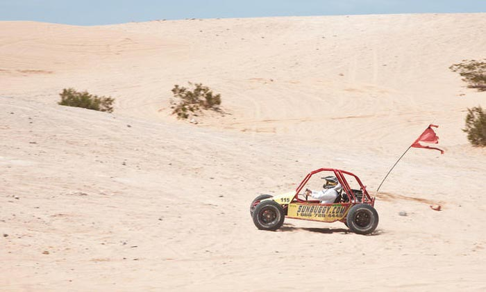 SunBuggy is an ATV Tour Company in the desert of Las Vegas.