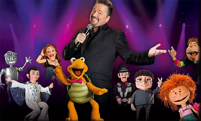 Terry Fator: The VOICE of Entertainment is performed at The Mirage in Las Vegas.