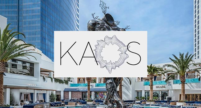 KAOS pool and dayclub dj events labor day