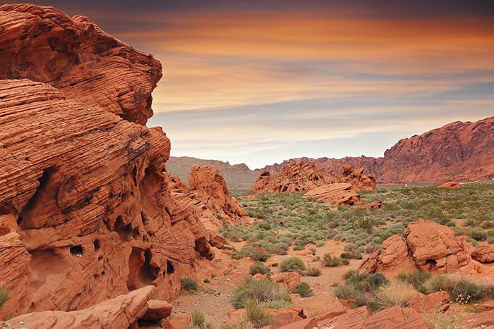 Red Rock Canyon in Las Vegas