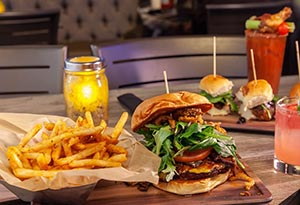 Smoked Burgers & BBQ, Lunch or Dinner for 2 for $49