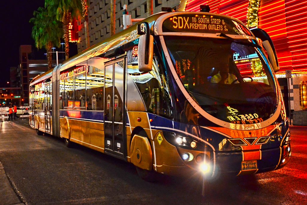 How to get to Fremont Street