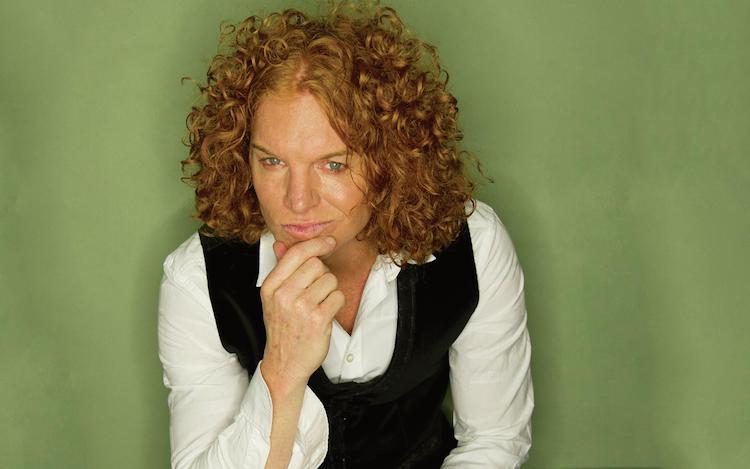 The infamous Carrot Top is still playing in Vegas