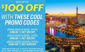 Vegas.com Summer Promo Code