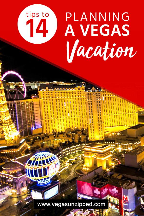 14 vegas vacation planning tips
