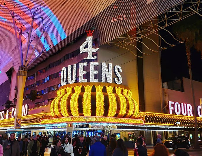 Four Queens in Las Vegas