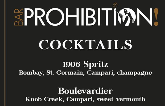 Bar Prohibition Men Golden Gate Casino